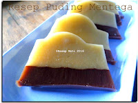 Resep Puding Mentega ( Butter Pudding Recipe )