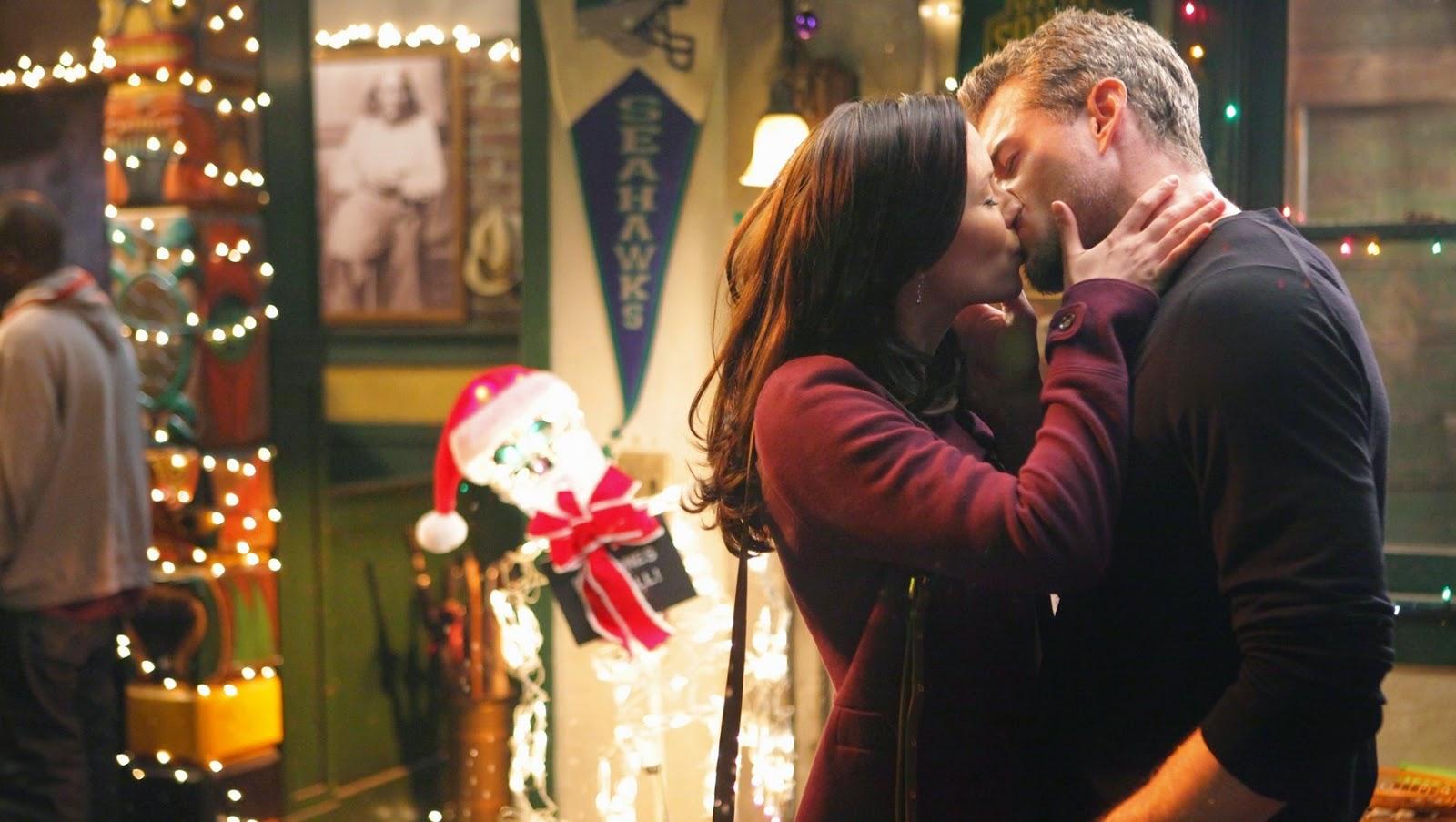 Lexie Grey y Mark Sloan