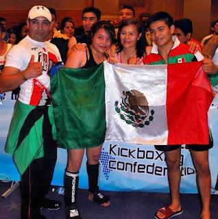 Melissa y Miguel Martínez Aceves son hermanos y representantes de México en el Muaythai