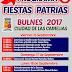 Tres ramadas se instalaran en Bulnes en las fondas 2017, Conoce aquí el programa de fiestas patrias.