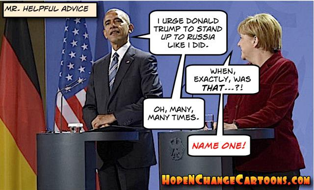 obama, obama jokes, political, humor, cartoon, conservative, hope n' change, hope and change, stilton jarlsberg, stand up, russia, putin, trump, merkel, syria