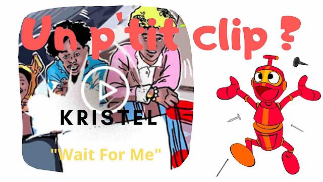 """""""Wait For Me"""" est un peu à l'image des Kristel, il impose son jeu et son rythme entre rage de vivre et envie de bouger."""