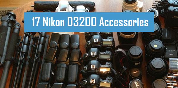Nikon D3200 Accessories