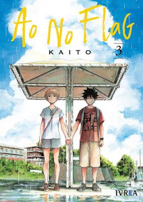 """Manga: Review de """"Ao no Flag"""" de Kaito - Ivrea"""