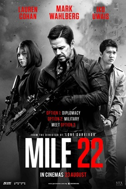 MOVIE REVIEW : MILE 22