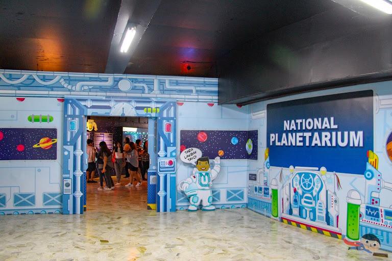 Entrance of National Planetarium, Manila