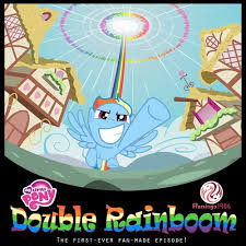 My Little Pony Double Rainboom -  2015 Poster