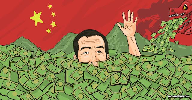 Uang dan Pekerja Cina, Bisa Hancurkan Jokowi