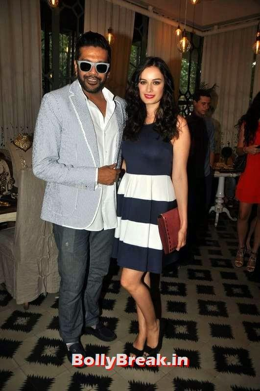 Rocky S with Evelyn Sharma, BeSpoke Vintage Launch Pics