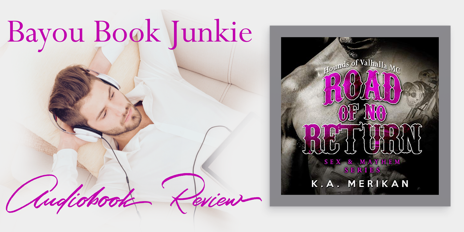 Amazon Audible Return Bayou Book Junkie Review Tour Road Of No Return Sex
