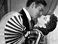 clark gable as rhett butler, gone with the wind, vivian leigh as scarlet o' hara