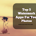 Top iOS Supported WaterMarks Apps For Your Photos #MacBookProject