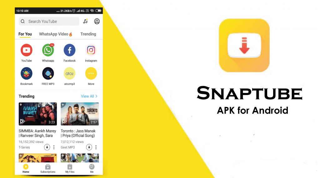 Free Download Snaptube Pro