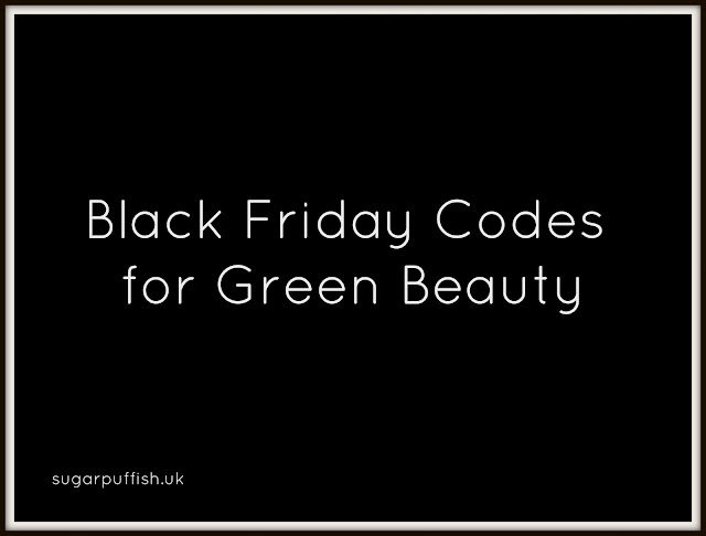 Black Friday Deals for Green Beauty 2015
