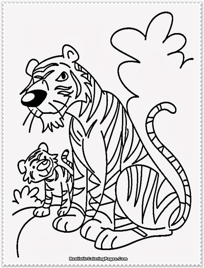 Saber Tooth Tiger Coloring Pages Perfect Coloring Pictures Of A