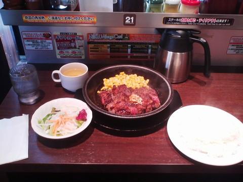 ワイルドステーキ¥1,080-1 いきなりステーキ岐阜茜部店