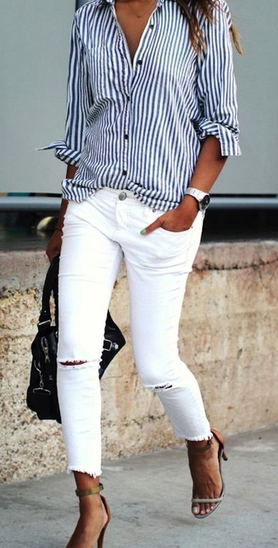 75 White Skinnies Outfits You Will Want