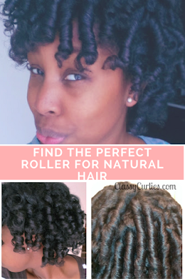 Find the perfect hair roller for natural hair
