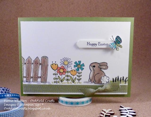 Garden Girl, Easter, Oakfield Crafts, Stampin' Up! UK, Challenge,