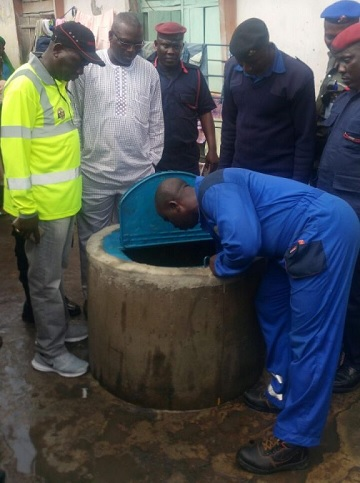 UNBELIEVABLE: Well Filled With Diesel In Lagos, See Photos
