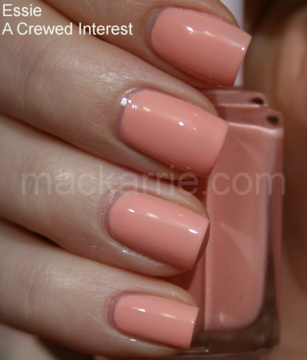 MacKarrie Beauty Style Blog: Essie A Crewed Interest A Crewed Interest Essie