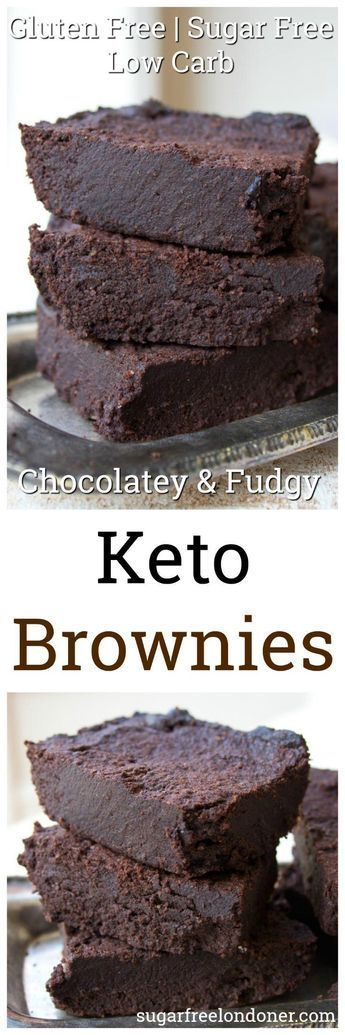 FABULOUSLY FUDGY KETO BROWNIES