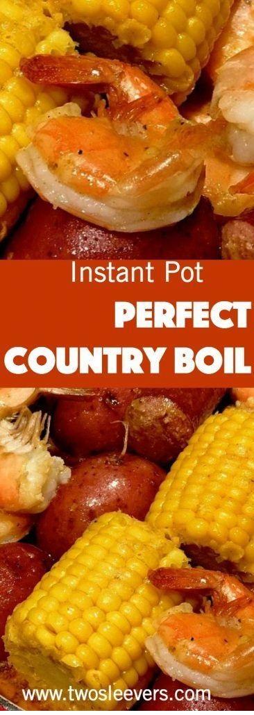 Instant Pot Low Country Boil | Cajun Shrimp And Sausage