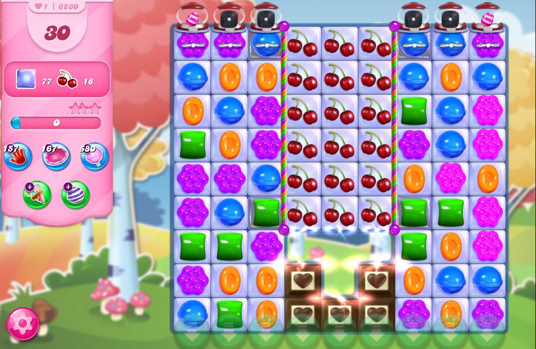 Candy Crush Saga level 6260