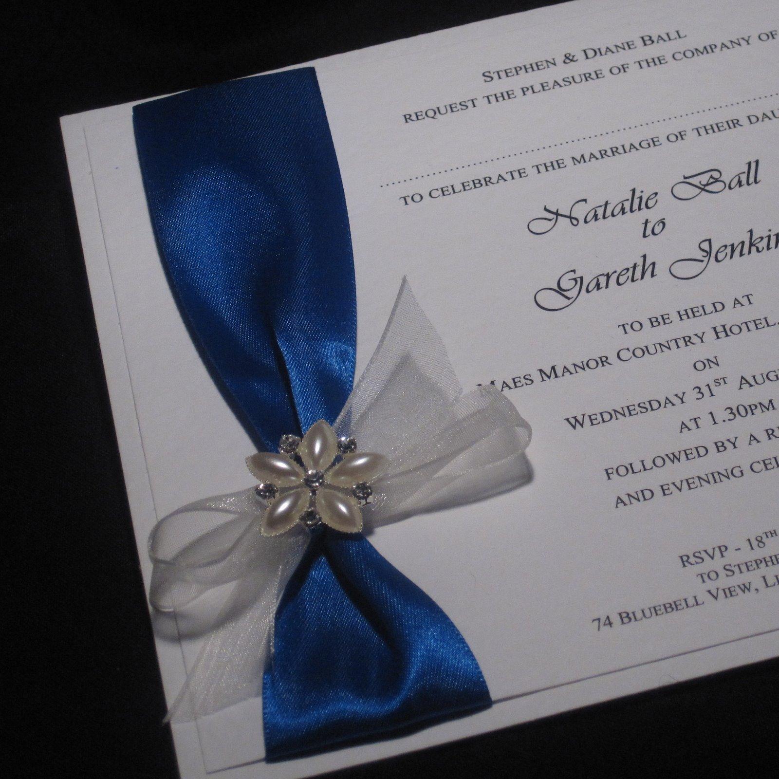 Welsh Wedding Invitations: Byjo.co.uk Handmade Wedding Invitations Stationery