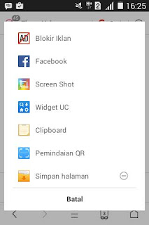 Tutorial Menyimpan Halaman di UC Browser 22