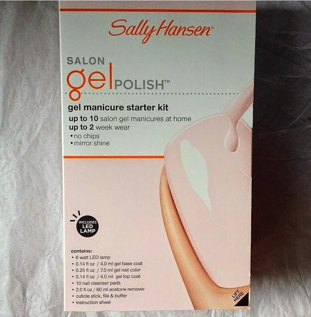 sally hansen, sally hansen gel nails, gel nails, at home gel manicure, beauty, beauty products