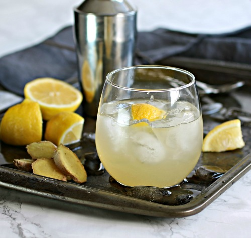 Ginger Bourbon Fizz