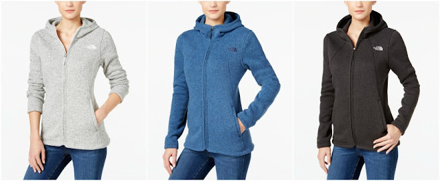The North Face Crescent Sweater Fleece Hoodie for only $60 (reg $99) with free shipping