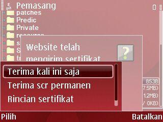 terima sertifikat facebook