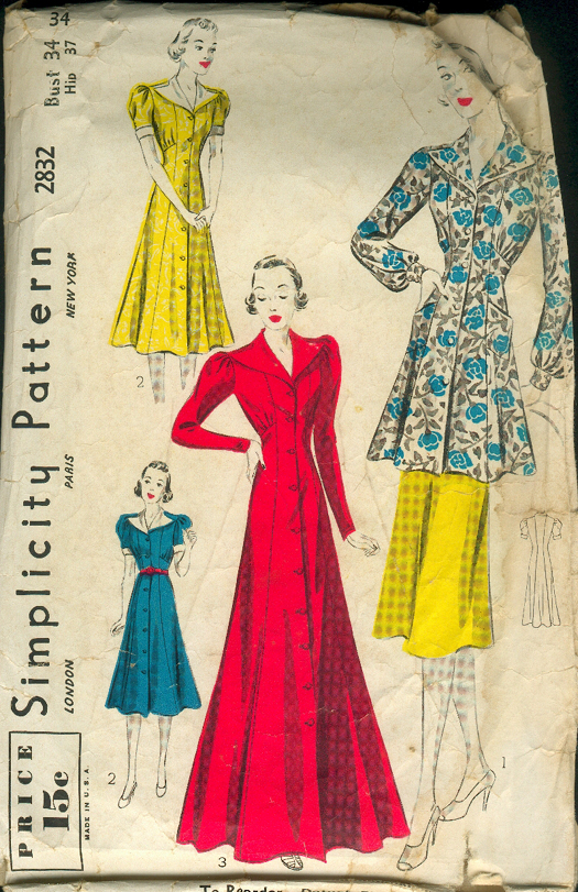 Vintage Patterns Reproduction by The Vintage Pattern Shop