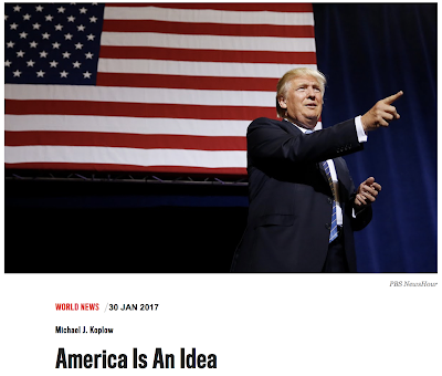 America is an idea.... The power of the United States... more than anything else it comes from the strength of the American idea.