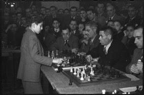 Simultáneas de Arturito Pomar en Lérida el 17 de abril de 1946 (14)