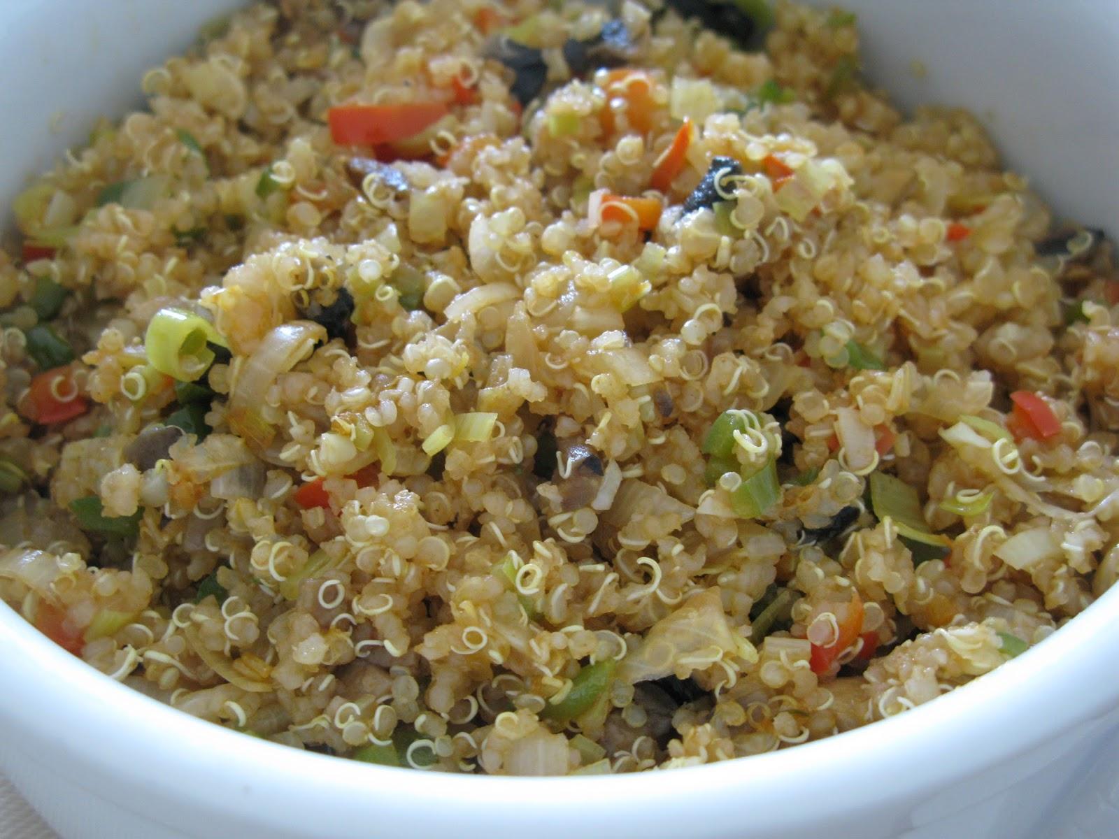 Deseos sin gluten quinoa con pollo y verduras sin gluten for Cocinar quinoa con pollo