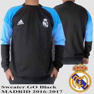 Jaket Sweater Distro Bola Real Madrid Grade ORi 2016 Murah