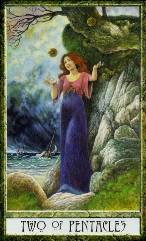 Two Of Pentacles A Constant Balancing Act