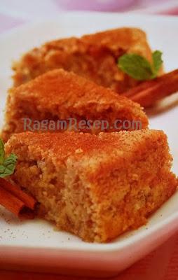 Resep Roti Cake Pisang Raja Yang Menggoda