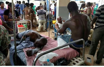 Photos: Over 100 injured in gas explosion in Sekondi-Takoradi