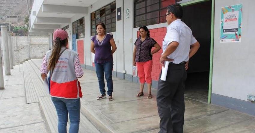PRONIED: 381 colegios de Lima Norte recibirán S/ 5 millones para mantenimiento y útiles escolares - www.pronied.gob.pe