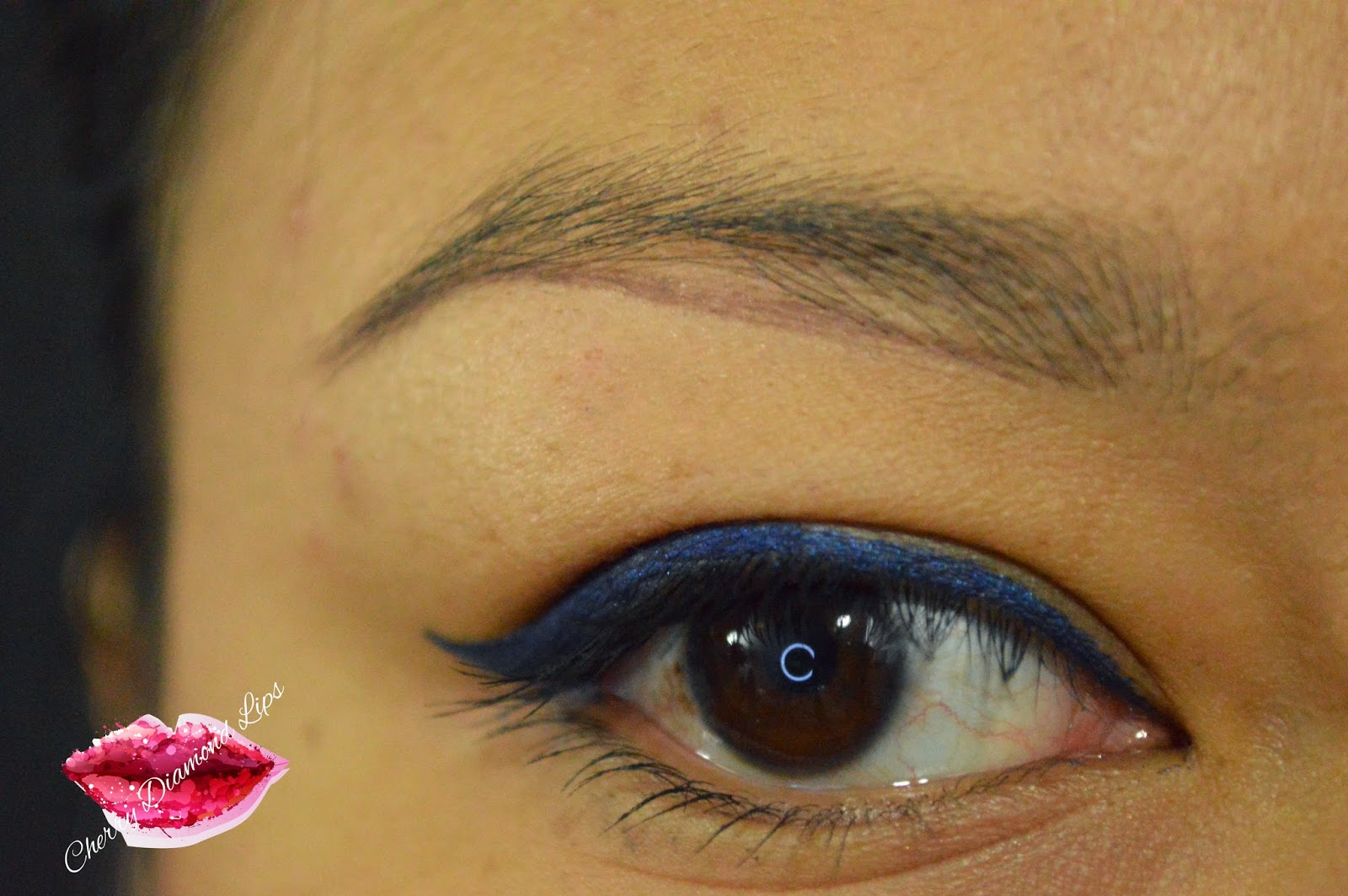 Ultra Aqua Brow Tint, Makeup Revolution, Eyebrow, HOw to, Cherry Diamond Lips