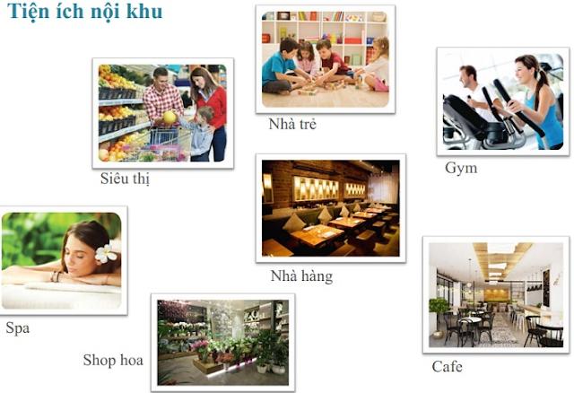 Tiện ích dự án 4A Vũ Tông Phan