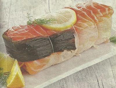 Какие нужны продукты и как приготовить лососевый рулет с рисом и мидиями