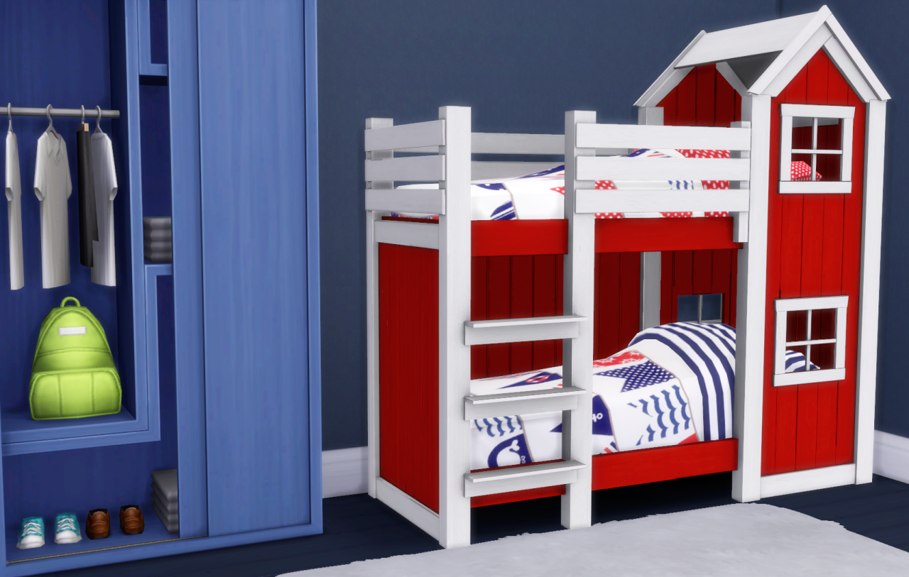 My Sims 4 Blog Mattresses For Toddler Bunk Beds By