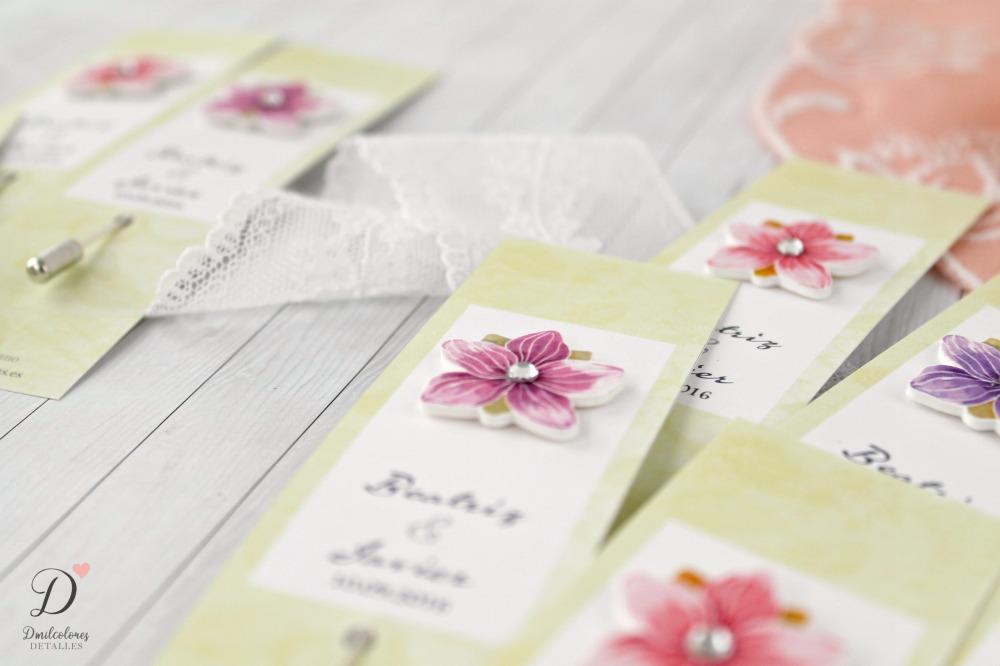 alfileres de boda flores