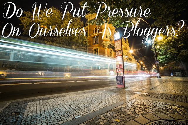 Bloggers and pressure - Just Add Ginger