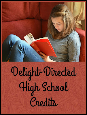 Delight-Directed High School Credits - A Homeschool Coffee Break post for The Homeschool Post @ hsbapost.com